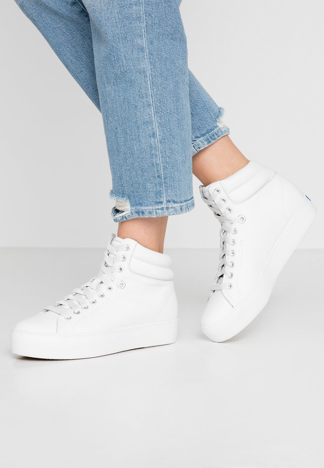 RISE  - High-top trainers - white