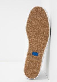 Keds - RISE  - Korkeavartiset tennarit - white - 6