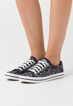KICKSTART FLORAL - Sneakers - peacoat navy