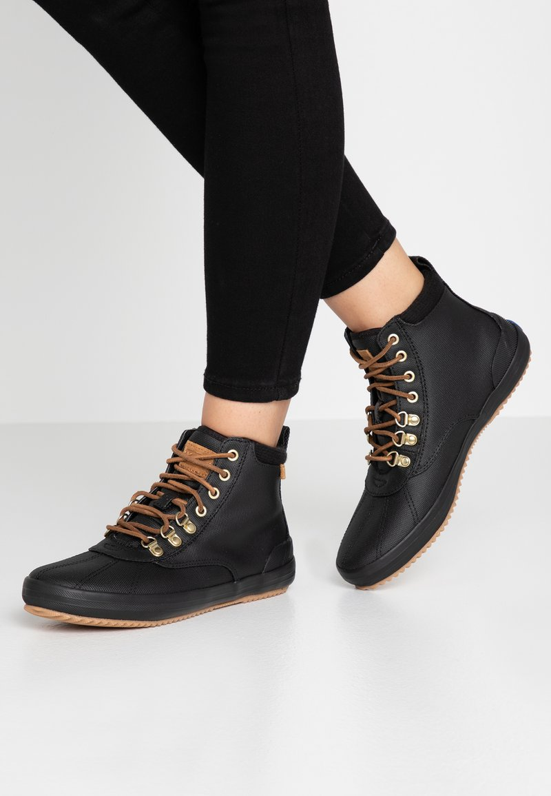 Keds - SCOUT  - High-top trainers - black