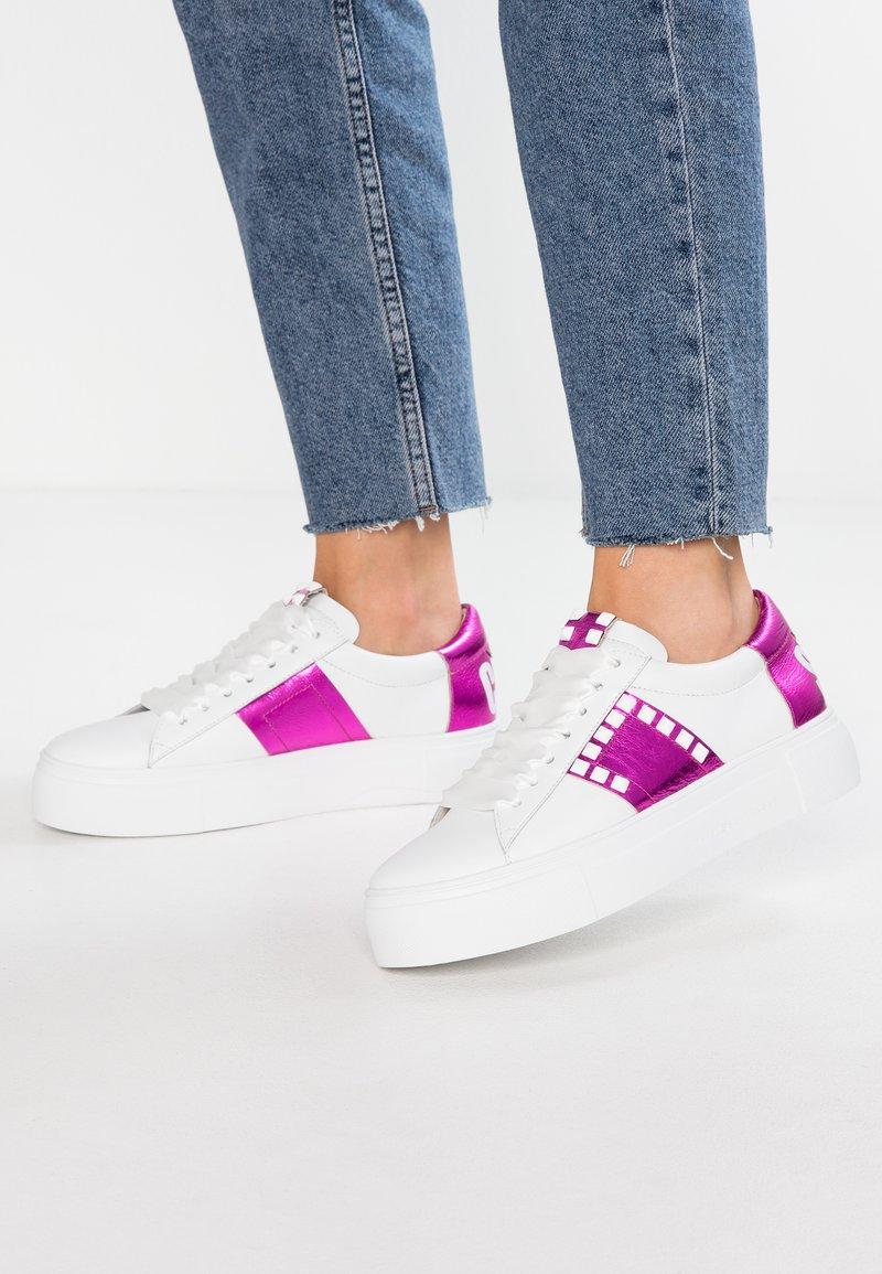 Kennel + Schmenger - BIG - Sneaker low - bianco/magenta