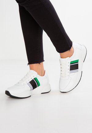 ULTRA - Sneakers - bianco/green/weiß