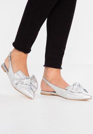 ZONE - Sling-Ballerina - silver