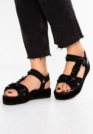 NEO - Platform sandals - schwarz