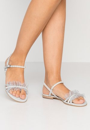 ELLE - Sandals - pastel grey/light grey