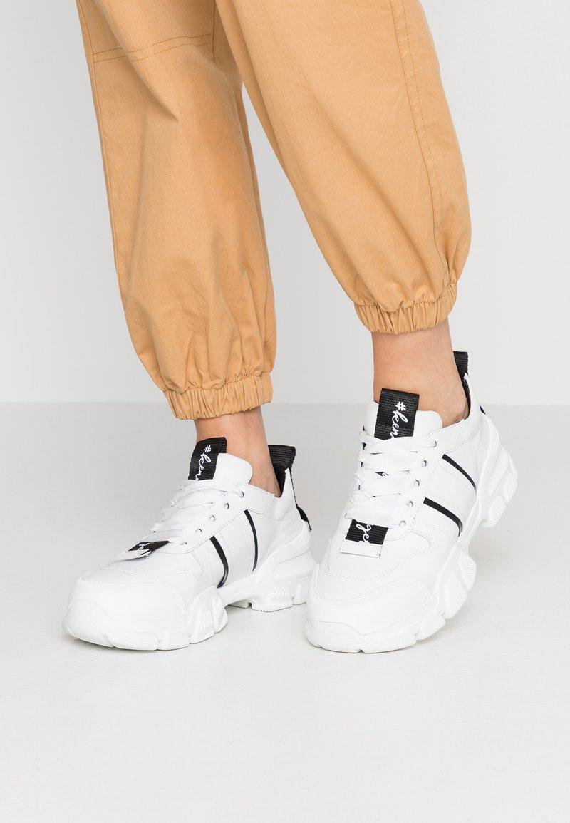 Kennel + Schmenger - ACE - Sneaker low - bianco/black