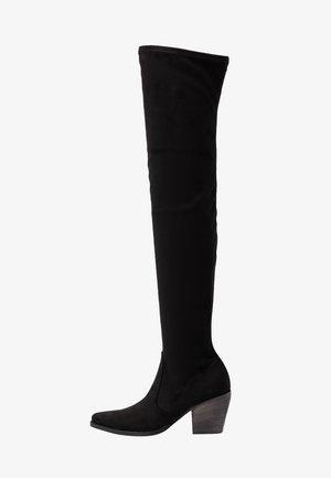 LUNA - Over-the-knee boots - black