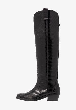 NIKKI - Over-the-knee boots - black