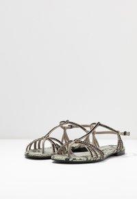 Kennel + Schmenger - ELLE  - T-bar sandals - shilf/black - 4