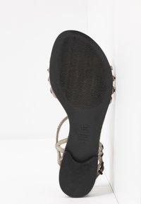 Kennel + Schmenger - ELLE  - T-bar sandals - shilf/black - 6