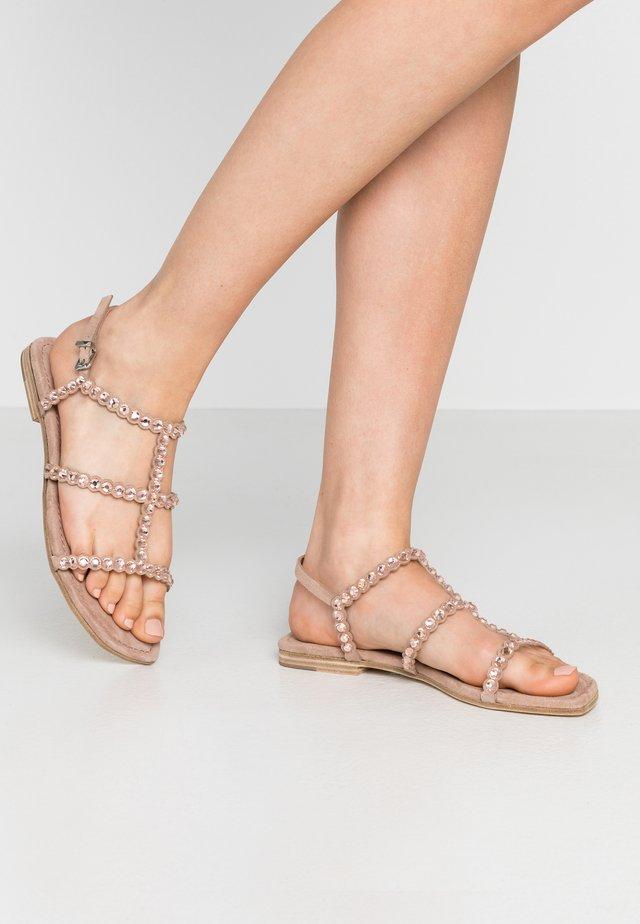 JORDAN - Sandals - nude