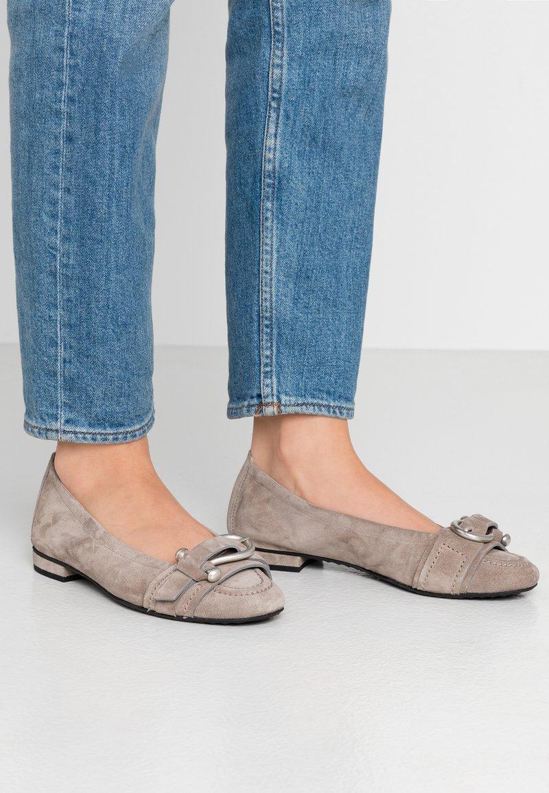 Kennel + Schmenger - MALU - Ballerina's - taupe/silver