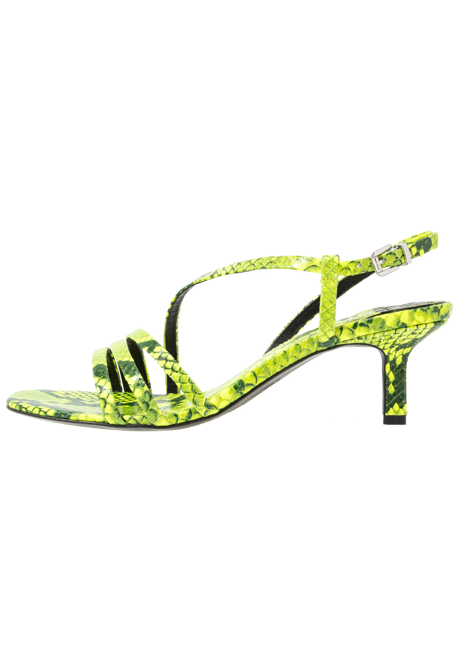 Kennel + Schmenger MISSY - Sandales - neon yellow