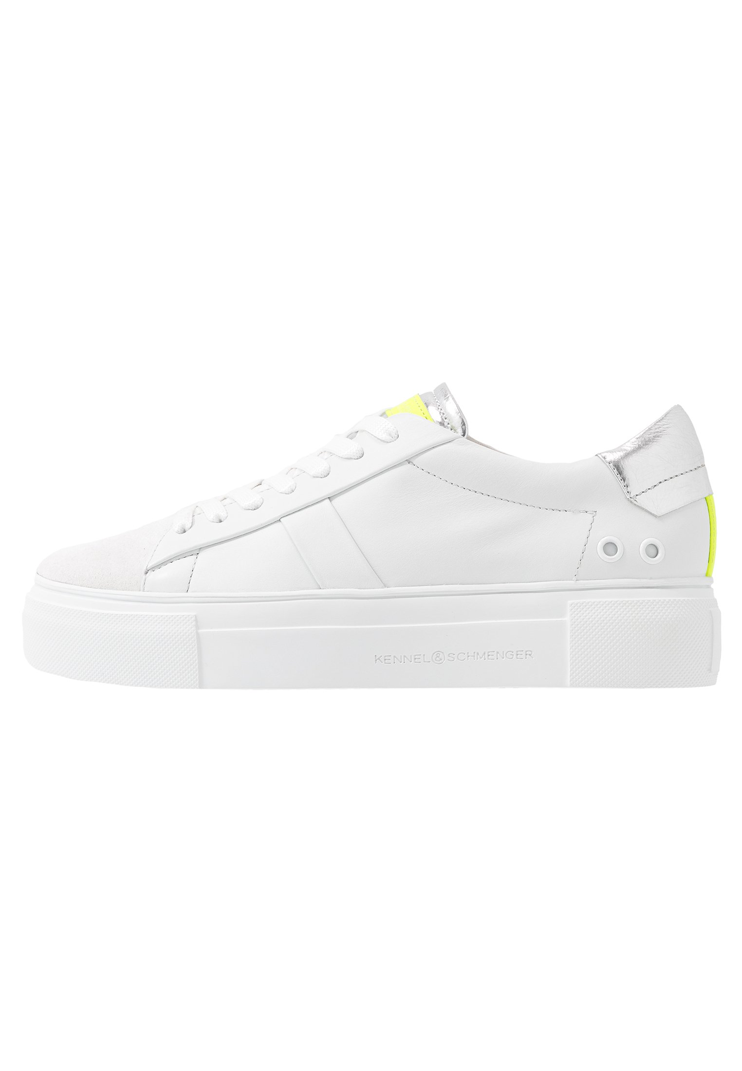 BIG Sneakers biancosilverneon yellow