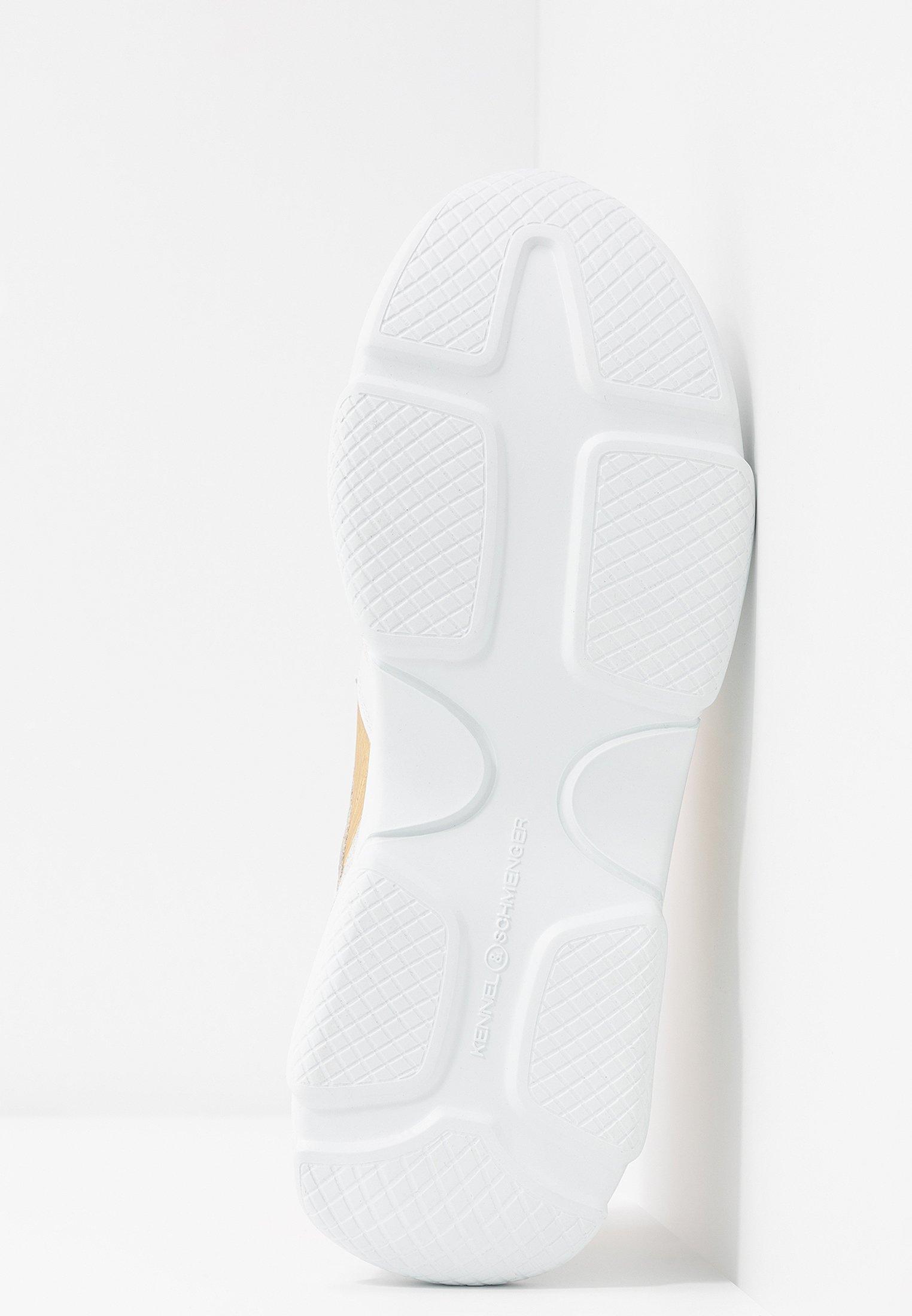 Kennel + Schmenger Sneakers basse - bianco/oro/neon orange BA7jfYHG