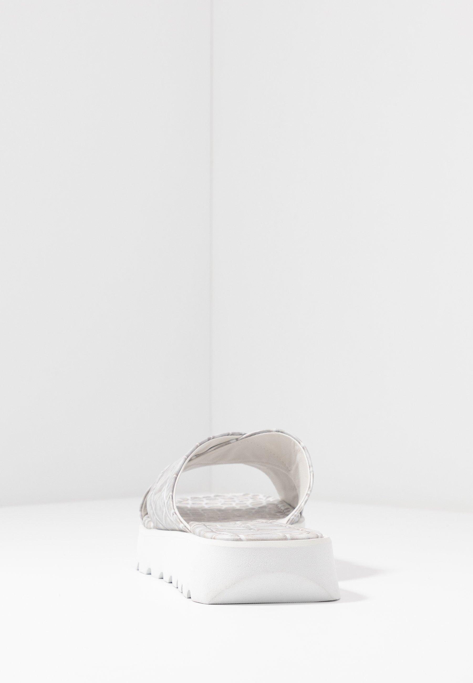 Kennel + Schmenger Lee - Ciabattine Grey/weiß jUoEoDk