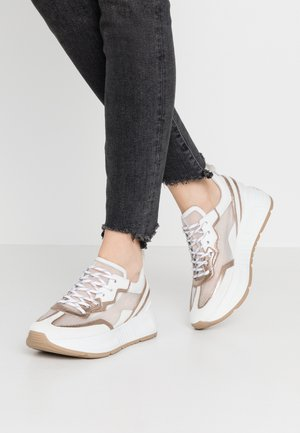 Sneakers - bianco/gold/weiß/natur