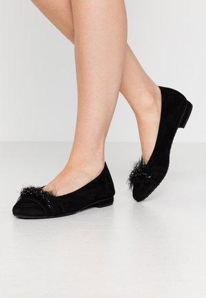 MALU - Klassischer  Ballerina - schwarz/black