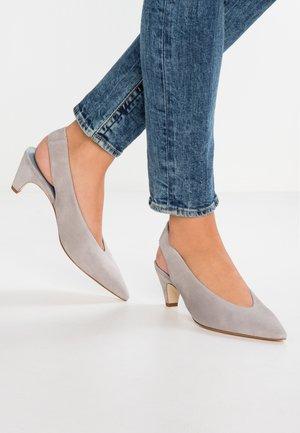 SELMA - Classic heels - light grey