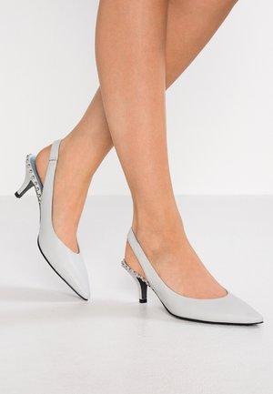 SELMA - Classic heels - pastel grey