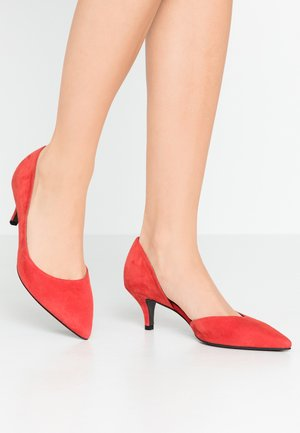 SELMA - Classic heels - coral