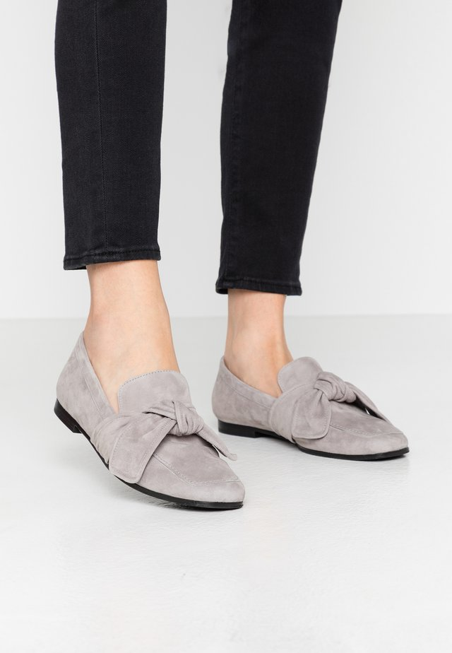 NINA - Slippers - steel