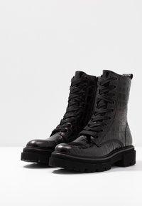 Kennel + Schmenger - BOBBY - Kotníkové boty na platformě - black - 4