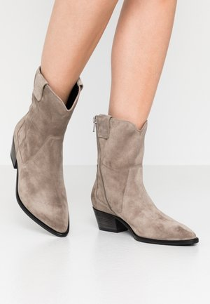 EVE - Cowboy/biker ankle boot - taupe