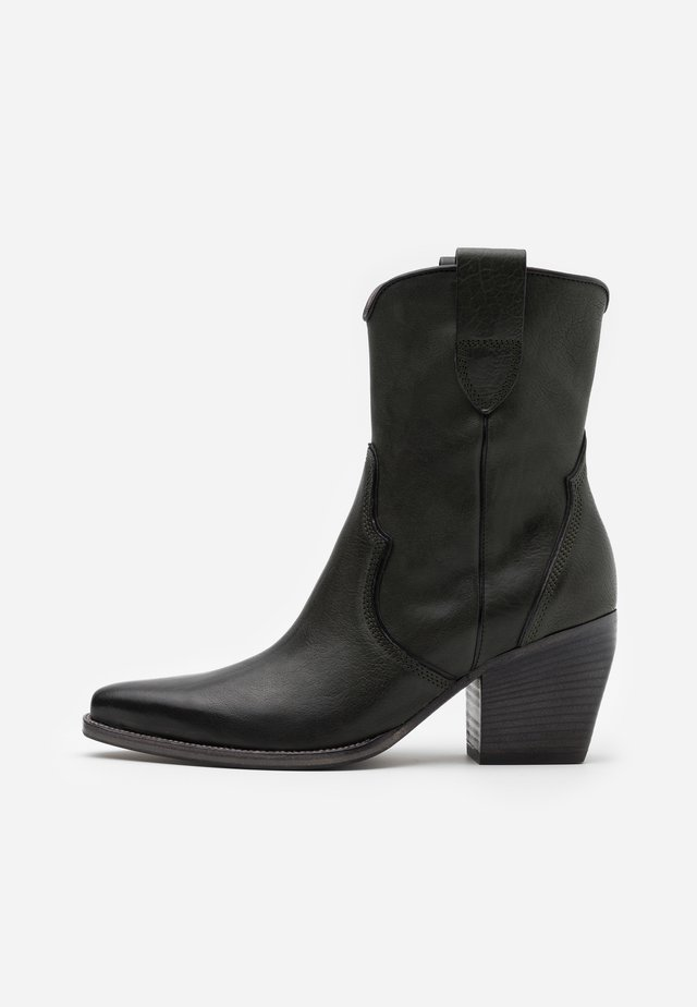 LUNA - Cowboy/biker ankle boot - bottiglia