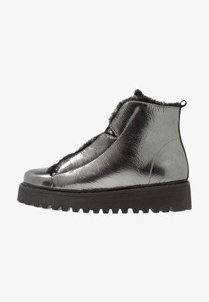 HIKE - Kotníková obuv - antrazit/schwarz