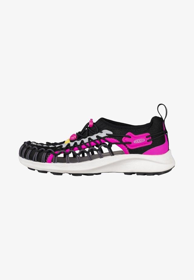 UNEEK SNK - Sneaker low - black/pink