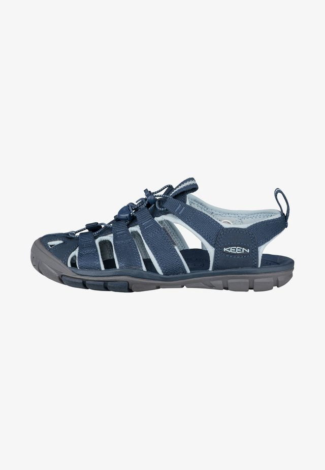 CLEARWATER CNX - Outdoorsandalen - navy/blue glow