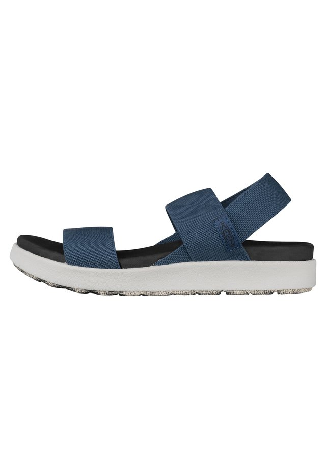 ELLE BACKSTRAP - Sandalen - dark blue