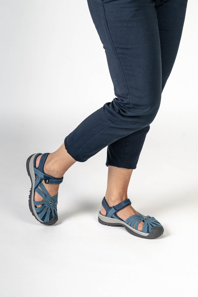 ROSE - Walking sandals - blue