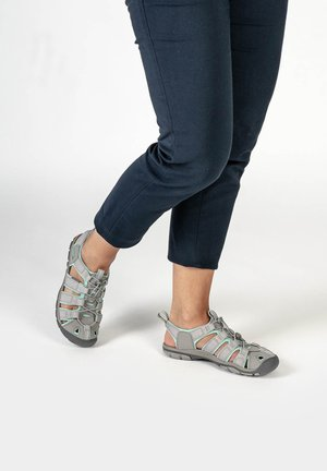 CLEARWATER CNX - Walking sandals - light gray/ocean wave