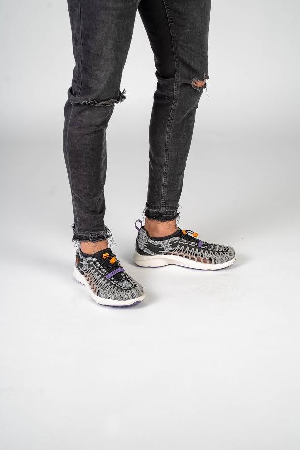Trainers - mix grey/black
