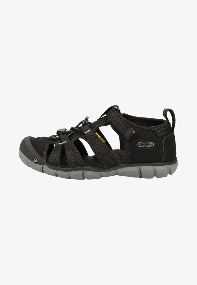 KEEN SANDALEN - Walking sandals - black/steel grey