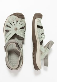 Keen - CLEARWATER CNX - Vaellussandaalit - pad/celadon - 1