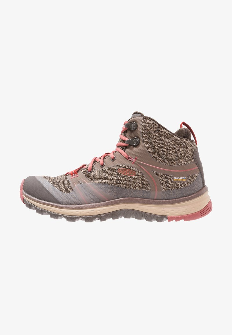 Keen - TERRADORA MID WP - Hiking shoes - canteen/marsala