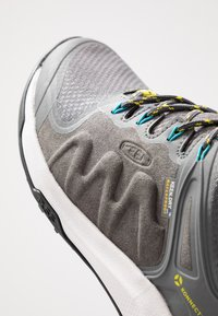 Keen - EXPLORE WP - Hiking shoes - steel grey/bright turquoise - 5