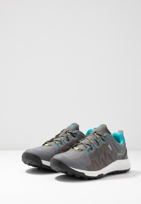 Keen - EXPLORE WP - Hiking shoes - steel grey/bright turquoise - 2