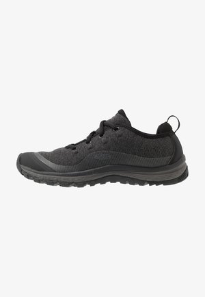 TERRADORA - Hiking shoes - black/raven