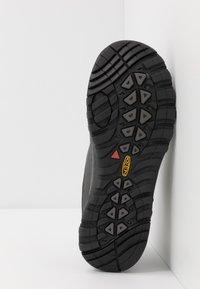 Keen - TERRADORA - Hiking shoes - black/raven - 4