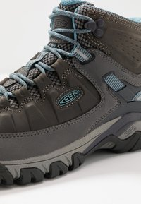 Keen - TARGHEE III MID WP - Outdoorschoenen - magnet/atlantic blue - 5