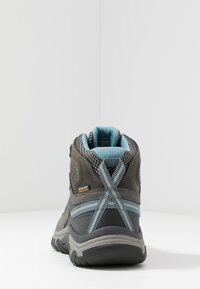 Keen - TARGHEE III MID WP - Outdoorschoenen - magnet/atlantic blue - 3