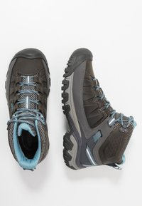 Keen - TARGHEE III MID WP - Outdoorschoenen - magnet/atlantic blue - 1