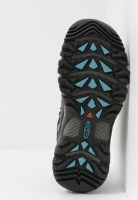 Keen - TARGHEE III MID WP - Outdoorschoenen - magnet/atlantic blue - 4