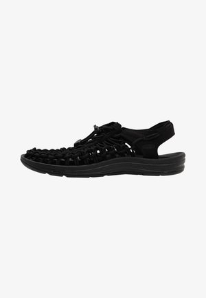 UNEEK - Walking sandals - black/black