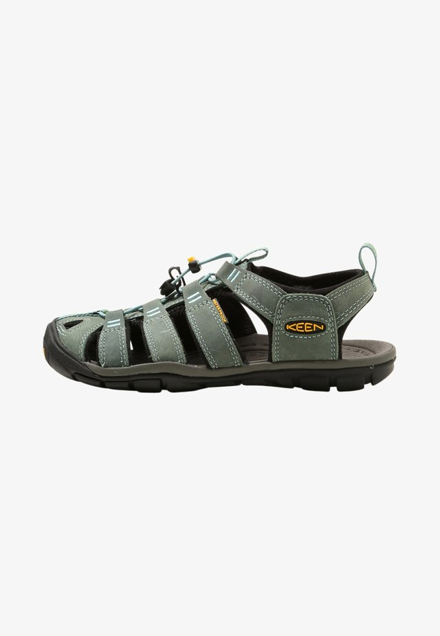 CLEARWATER CNX  - Outdoorsandalen - mineral blue/yellow