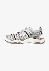 Keen - EVOFIT ONE - Walking sandals - grey/white - 0